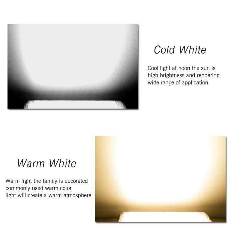 LED Flood Light 50W 220V 240V Floodlight CHIP IP65 Waterproof Outdoor Wall Reflector Lighting Garden Square Spotlight Cold White