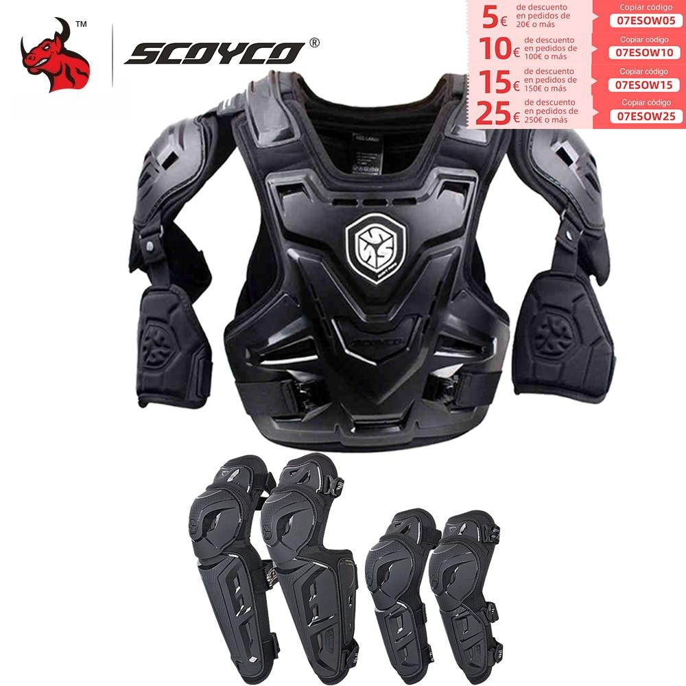 SCOYCO CE-درع للجسم للدراجات النارية ، واقي صدر موتوكروس ، وسترة دراجة نارية ، وسترة سباق ، وحماية للجسم ، ودروع MX