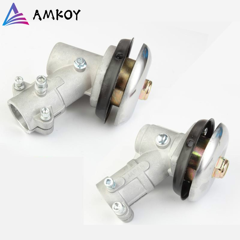 AMKOY 26mm/28mm Trimmer Gearbox Gear Head Brush Cutter Grass Trimmer Replace Gear Head Lawn Mower Parts Gardening Tool 7 9 Teeth