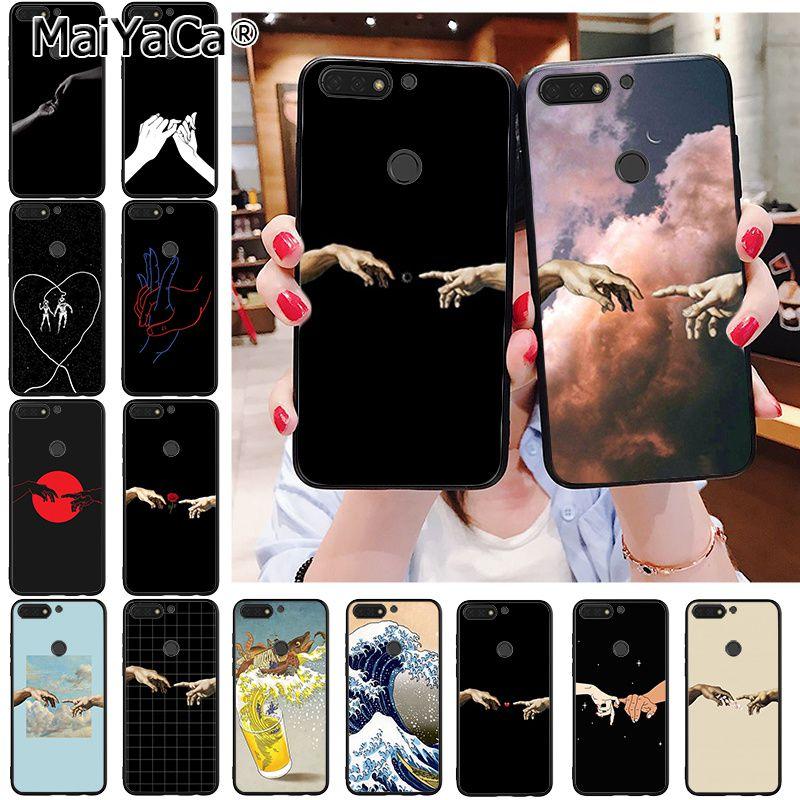 Чехол для телефона MaiYaCa Creation Adam Anime для Huawei Honor 8X 9 10 20 Lite 8A 5A 7A 7C 10i 8C 7A 9X Pro