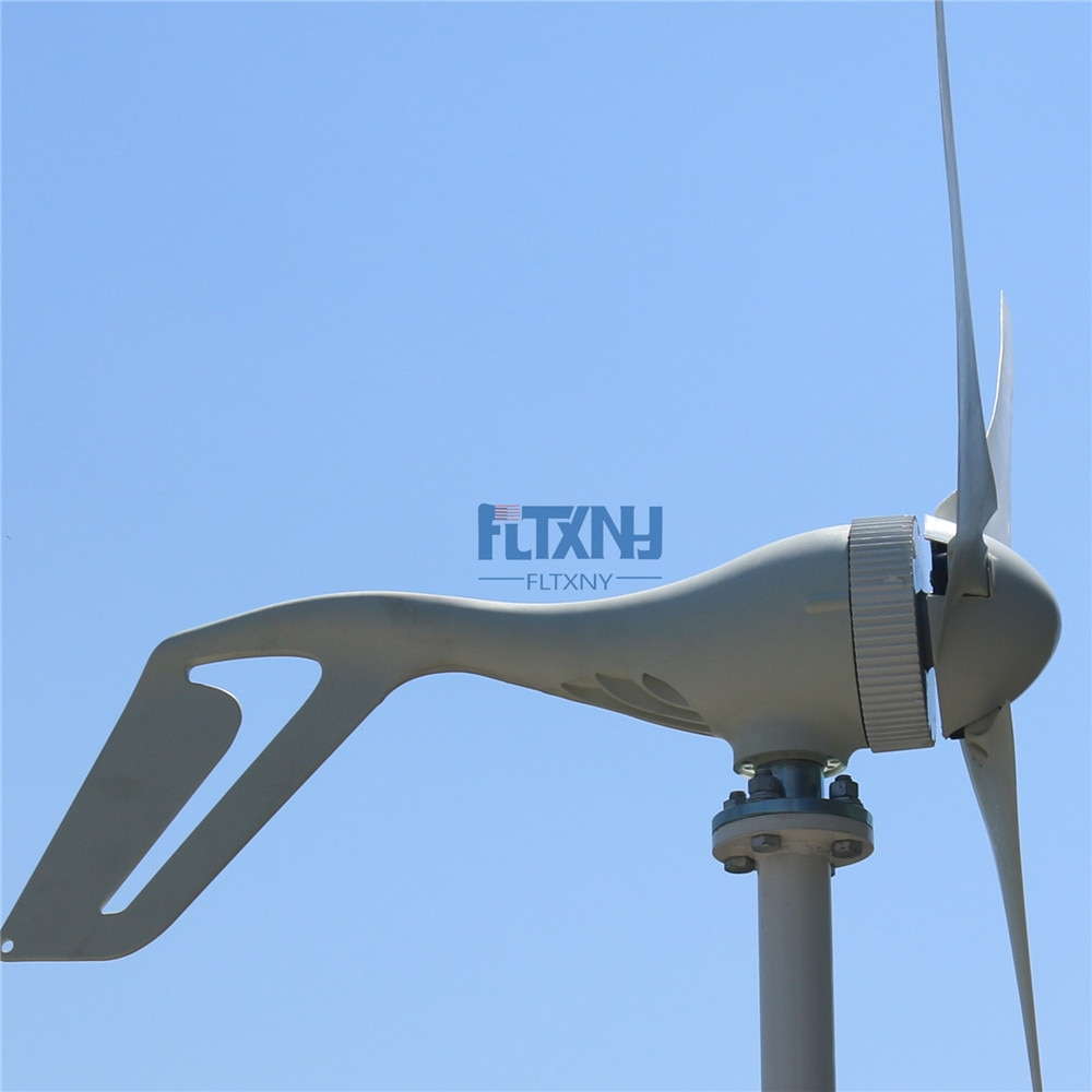 2020 Best Selling Wind Generator 400W Wind Turbine with 3/5PCS Blades + Wind Generator Charge Controller, For Marine and Land