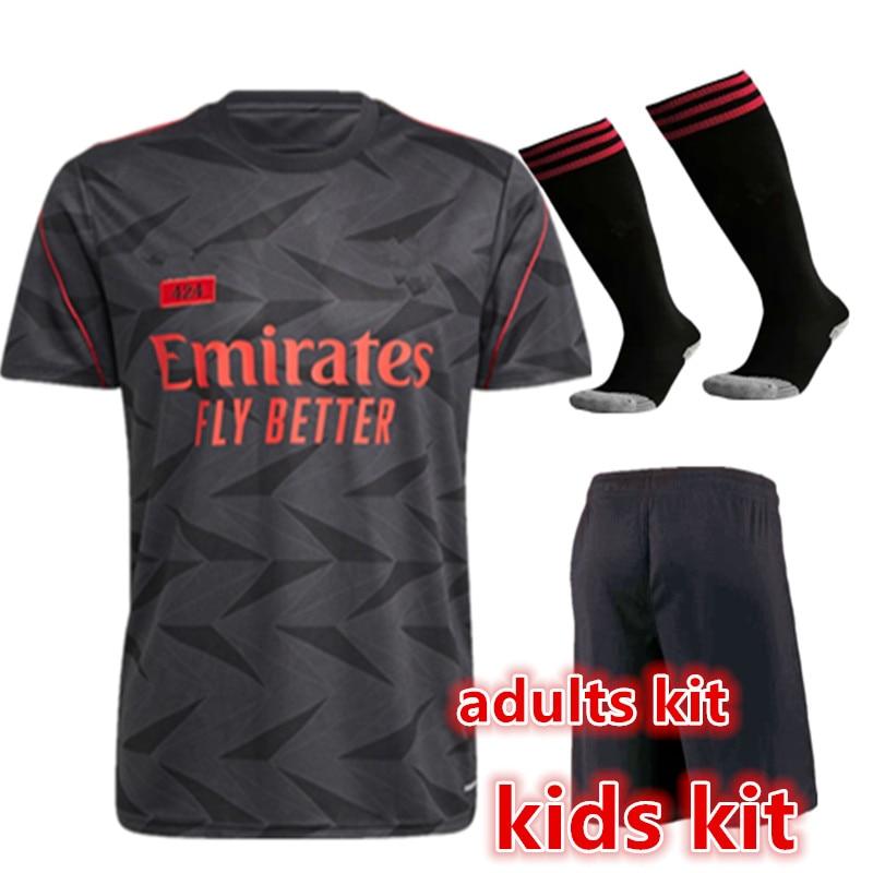 child shirt 424 Home away kids kit Odegaard BELLERIN SAKS AUBAMEYANG OZIL Martinelli adults kit new 2020-21 ArsenalES shirt