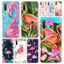 Dété flamant Plante Feuilles Téléphone Housse Pour Xiaomi Redmi Note 9S 8T 8 8A 7 7A 6 6A 5 10 K20 S2 K30 Pro Km CC9 8 9 5X 6X Li