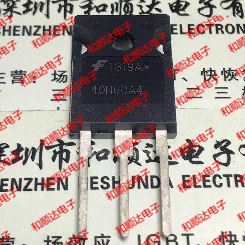 10 unids/lote 40N60A4 HGTG40N60A4 IGBT600V a-247