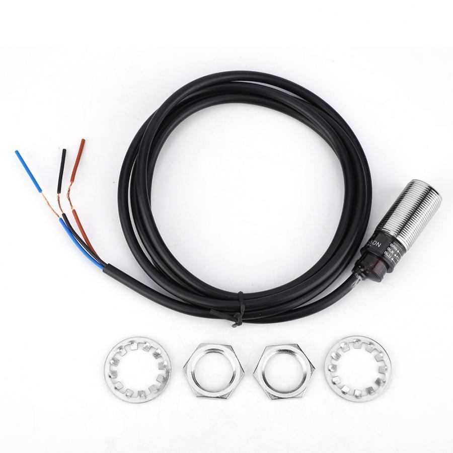 PR18-5DN Proximity Schalter Induktive 3-Draht KEINE NPN Sensor Internen Verstärker Schalter 10 ~ 30VDC 5mm Abstand Sensor moudle