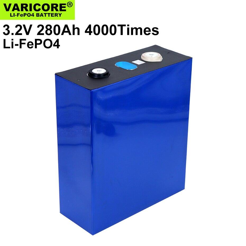 16pcs VariCore 3.2V 280AH battery pack LiFePO4 12V 24V 280000mAh for E-scooter RV Solar Energy storage system Travel Batteries