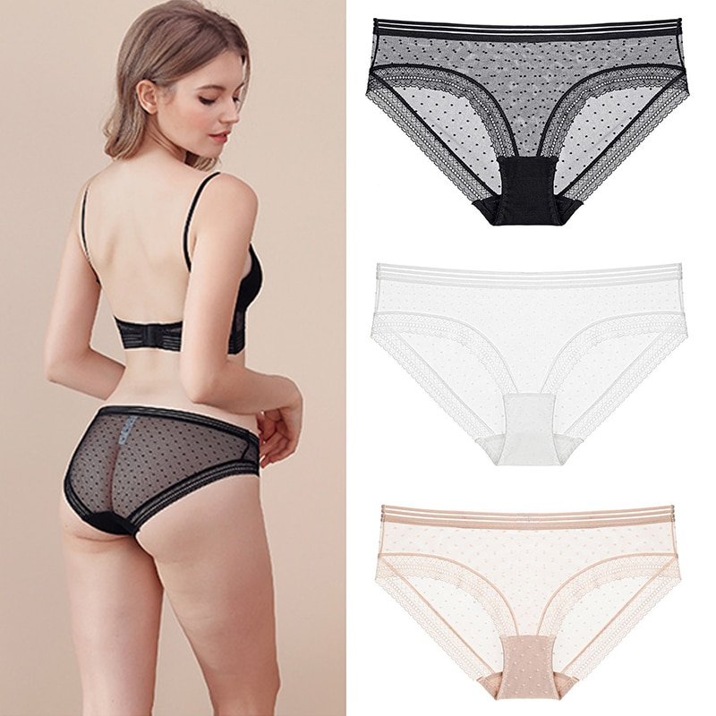Women Panties Sexy Lace Underwear Woman Knickers Lace Panties Mesh Floral Lingerie Female Seamless Briefs Underpants Low-Rise l bellagiovanna girl s boyshorts panties small sizes female floral underwear briefs sexy lace calcinha lovely underpants 818