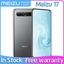 Meizu 17 8G 128G 256G téléphone portable 5G smartphone snapdragon 865 octa core support NFC 30W chargeur rapide version anglaise