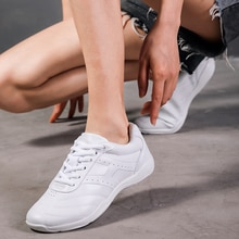 Kids' Sneakers Children's White Modern/Jazz/Hip-hop Dance Shoes Competitive Aerobics Shoes Soft Sole