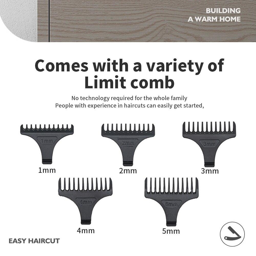 Electric Hair Clipper Mower Professional Hair Trimmer For Men Cordless Trimmer Beard Hair Cutting Machine Barber Hair Cut Razor enlarge