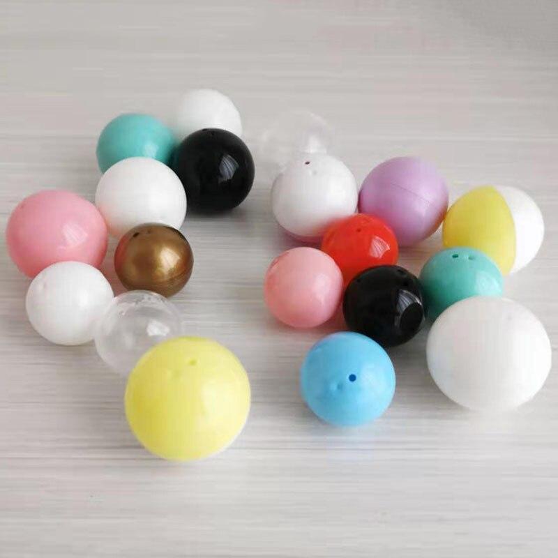 Máquina de diversión de plástico de cáscara de huevo 32/40mm máquina de regalo grúa de cáscara de huevo-embalaje de regalo Bola de burbuja transparente