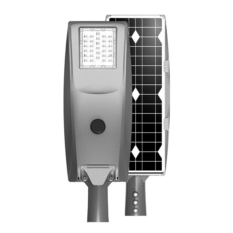 IP65 waterproof 20W 30W 40W 50W Outdoor All In One Solar LED Street Light With Motion Sensor
