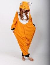 Nouveau adulte Animal pyjama renard pyjama Costume Cosplay Onesie fantaisie Costume sweats à capuche Pyjamas vêtements de nuit