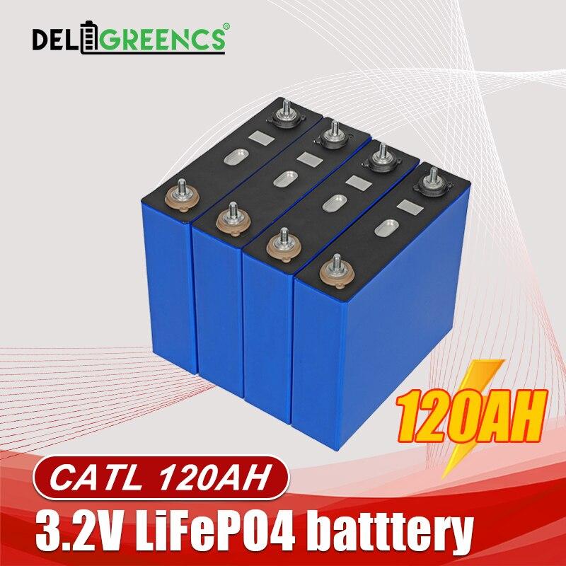 كاتل 120AH LiFePO4 بطارية 12 فولت بطارية ليثيوم المنشورية الفوسفات ليبو ل RV تخزين الطاقة لا حواء 280ah أو ليشين 272AH