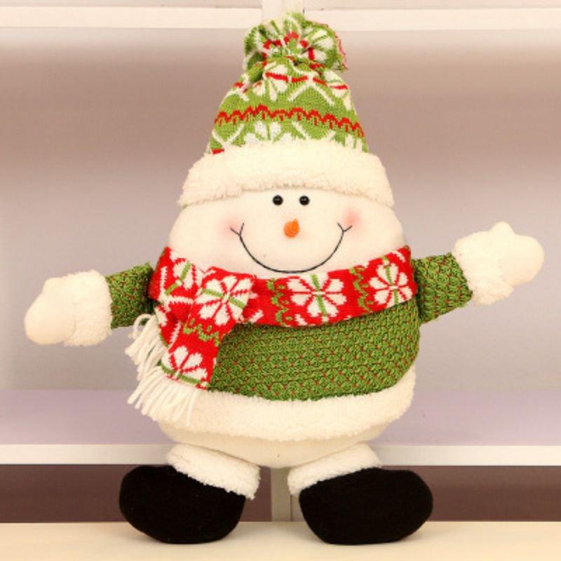 Año Nuevo almohadas suaves cama asiento de coche almohada decoraciones de almohada de Navidad almohadas de forma de Santa Claus almohada de cuello almohada de viaje pil