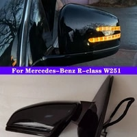 car outside rearview rear view side mirror turn signal assembly for mercedes benz r class w251 r280 r300 r320 r350 r500 r63