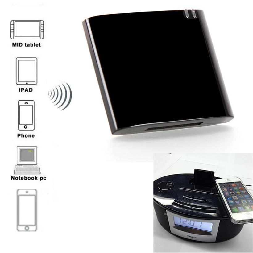Desxz 30 Pin Bluetooth Receiver APT-X A2DP CSR4.0 Music Audio Adapter for iPad iPod iPhone 30P-in Dock