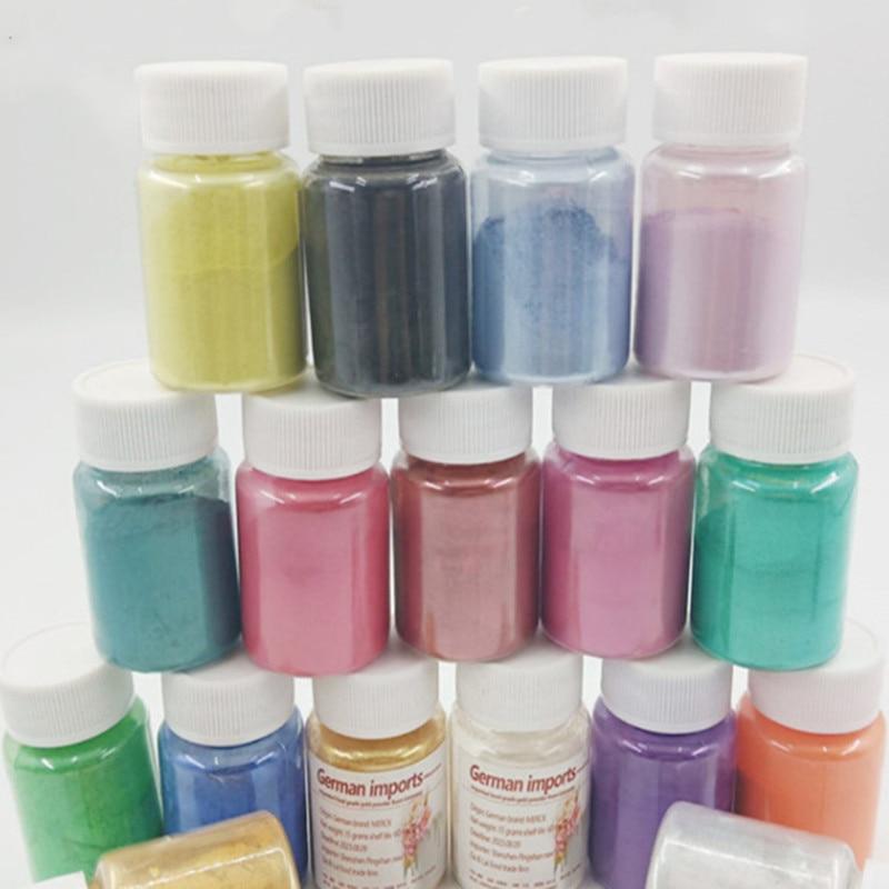 Pigmento de decoración para pasteles, pigmento de polvo de plata y oro comestible alemán, polvo de pigmento de calidad alimentaria, polvo de Color horneado