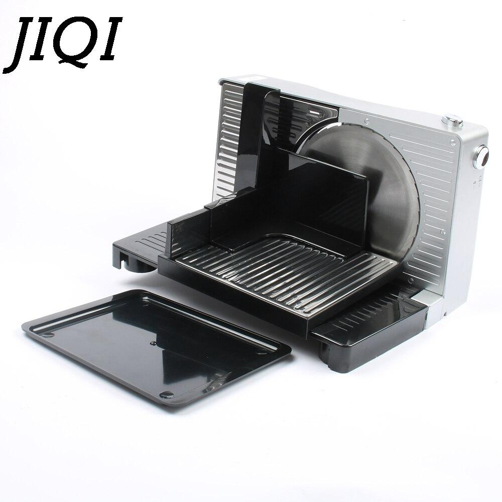 Cortadora eléctrica de alimentos JIQI, picadora de carne, picadora de carne, cortador de carne congelada, Cortadora automática de verduras de cordero 110V 220V