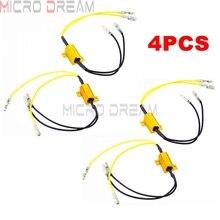 Adaptateur de résistance de charge 4x25W 6.8 Ohms clignotant LED erreur de réparation, indicateur de résistance de Flash rapide, contrôleur de vitesse de clignotant
