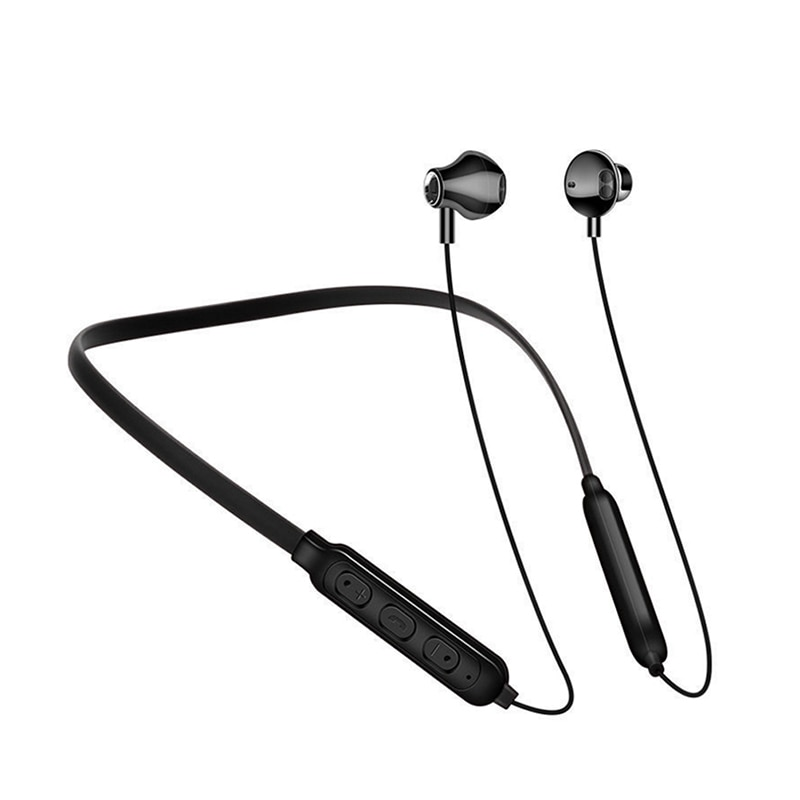 3 colores deporte banda para el cuello auriculares inalámbricos Bluetooth auriculares IPX5 impermeable auricular con micrófono para Huawei P20 iPhone 8 xiaomi 8