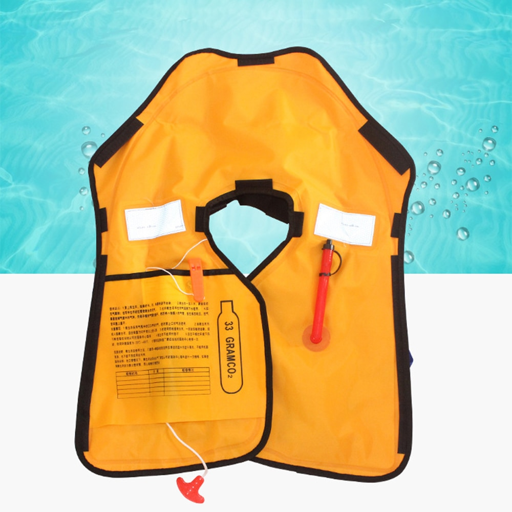 Спасательные Жилеты Надувные автоматические, профессиональные спасательные жилеты для плавания и водных видов спорта, для взрослых, рыбал...