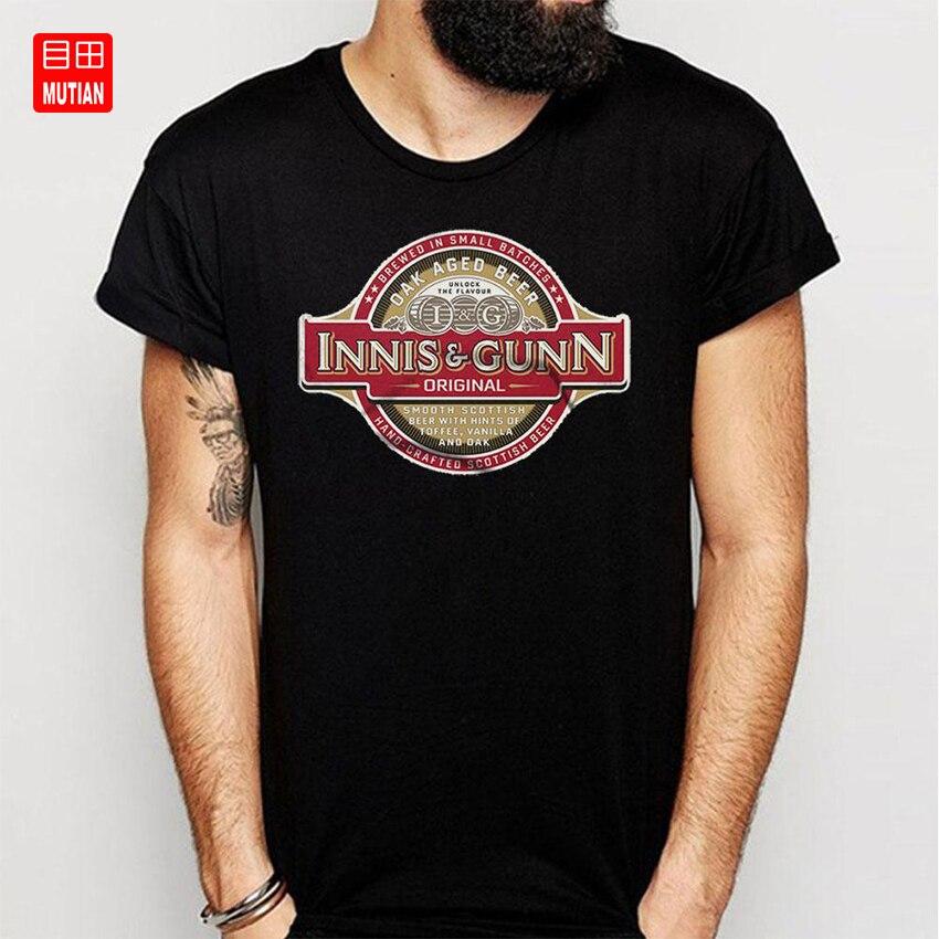 Camiseta de Innis y Gunn escocés