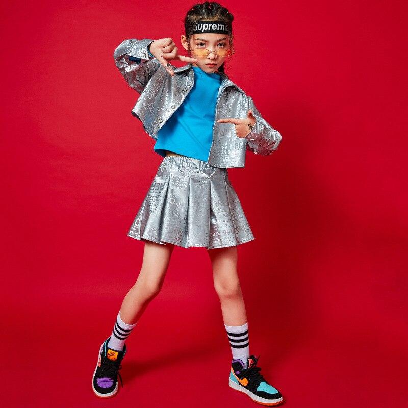 Camiseta de manga larga estilo hip hop para niños, ropa informal para...