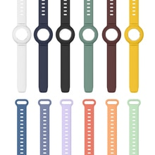 New Bracelet For AirTag Anti-Lost Silicone Case Protective Cover Design For Apple Airtag Tracking Lo