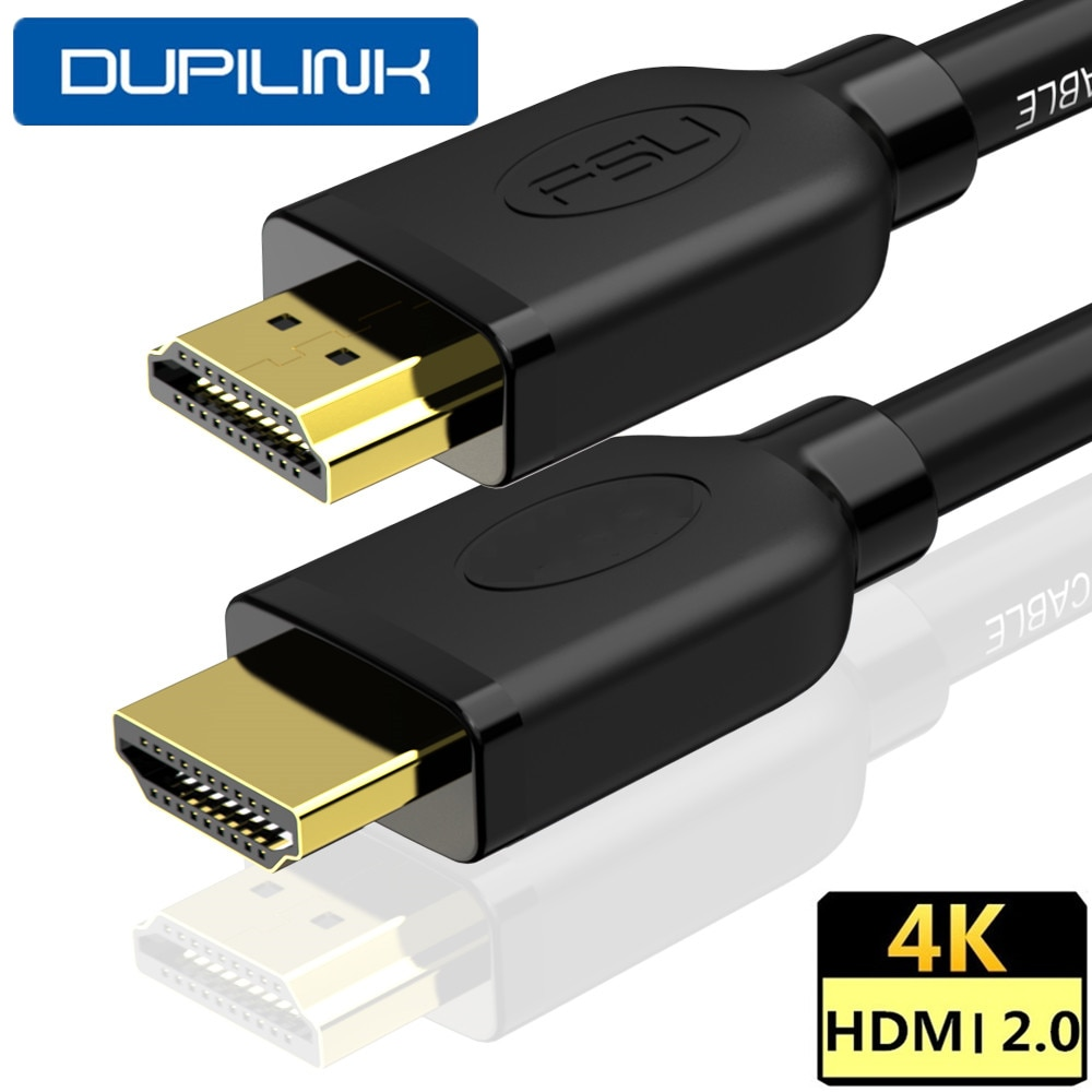 DUPILINK HD-MI Cable HDMI 2.0 1.4V 4K HDMI Cable 60Hz HDMI to HDMI Extender Cable 3  5 10M for PC PS