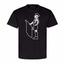 Fashion New Summer Homme T-shirt Men Fashion Junge mit Fanfare Trompete  Trompeter Musik Militar T-Shirt  bob marley  T shirt