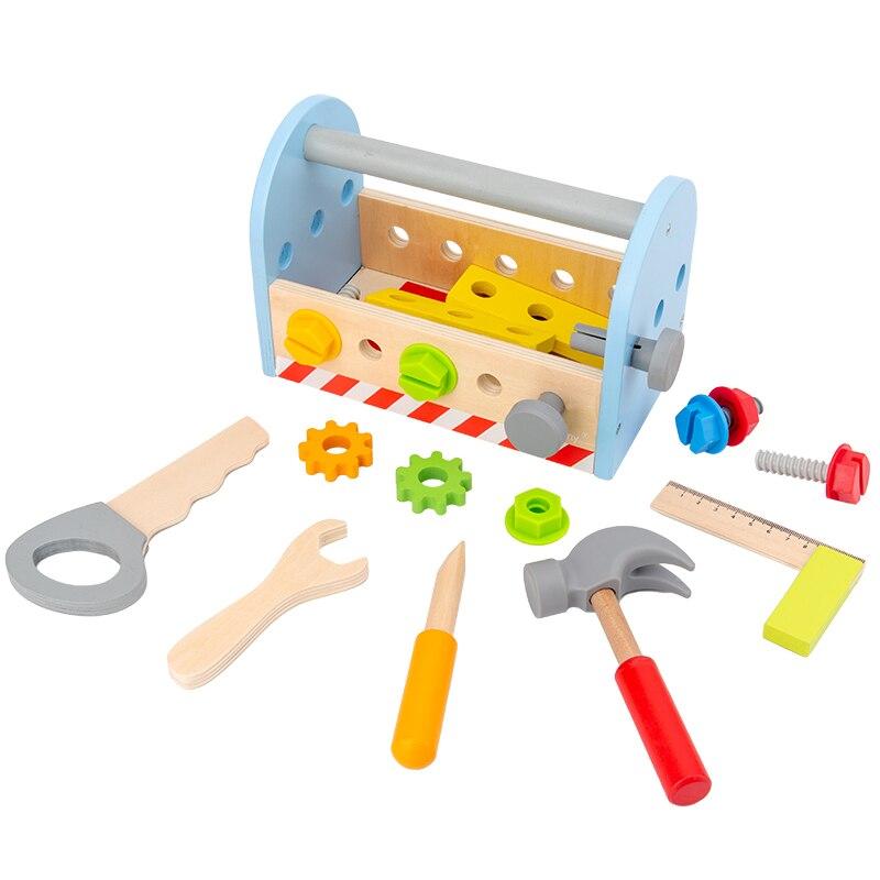 Материалы Монтессори, сенсорные игрушки, винтовые болты, наборы Монтессори, Обучающие деревянные игрушки для детей, игрушки Монтессори A1046F