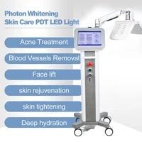 new 3 colors pdt facial mask threapy face lamp led photon skin rejuvenation salon home use skin care