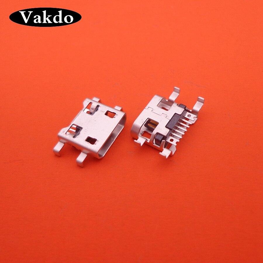 50 шт. микро USB разъем для раковины плата 7 pin зарядный порт Гнездо Teclast X89 X80HD X16HD P79HD