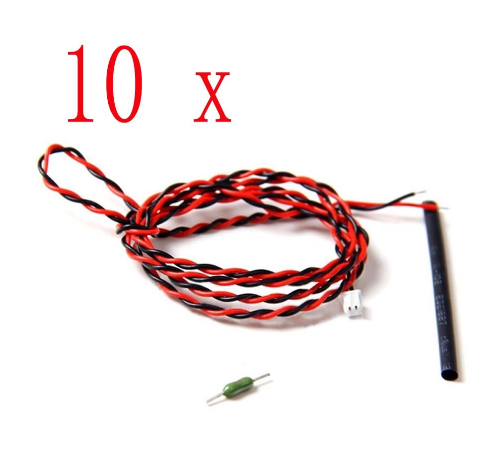 10/20 pcs External Voltage Cable for Futaba R7008SB Rx CA-RVIN-700 NIB 70cm KK 70 CM