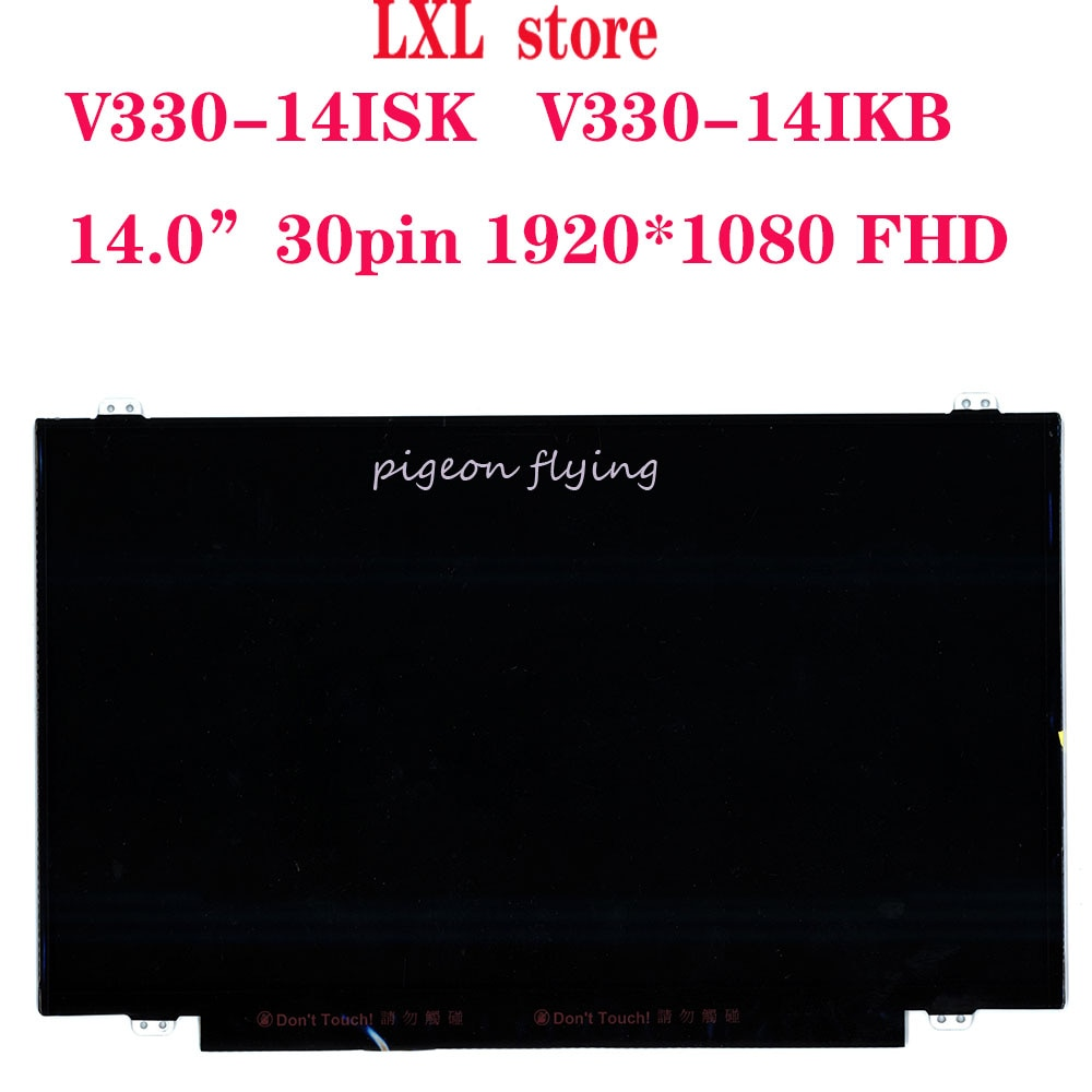 "V330-14 LCD screen for lenovo laptop 14.0""LCD panel 1920*1080 FHD 30pin FRU 5D10R65299 5D10K93439 5D10L01874 5D10L08701 100%TEST"