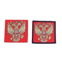 new russian flag embroidery patch army military skull patches tactical emblem appliques russia soldier embroidered badges
