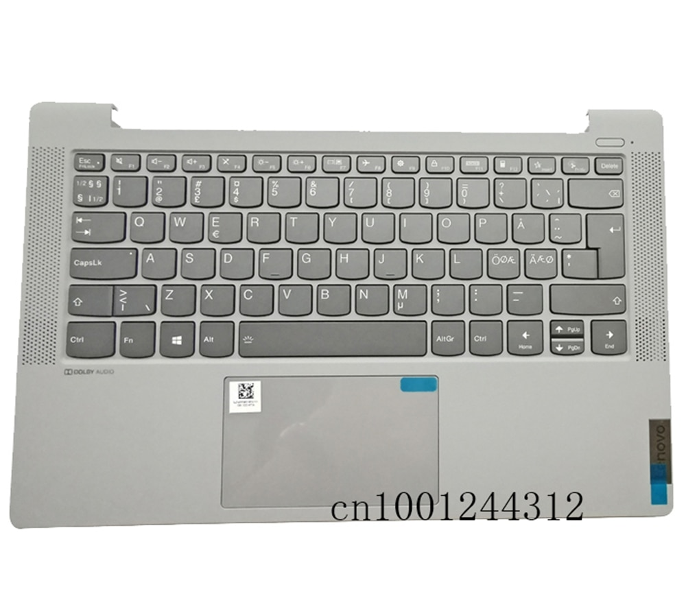 جديد 5CB1A13741 لينوفو ايديا باد 5-14ARE05 5-14ITL05 5-14IIL05 Palmrest لوحة المفاتيح الحافة لوحة اللمس الخلفية زر الطاقة