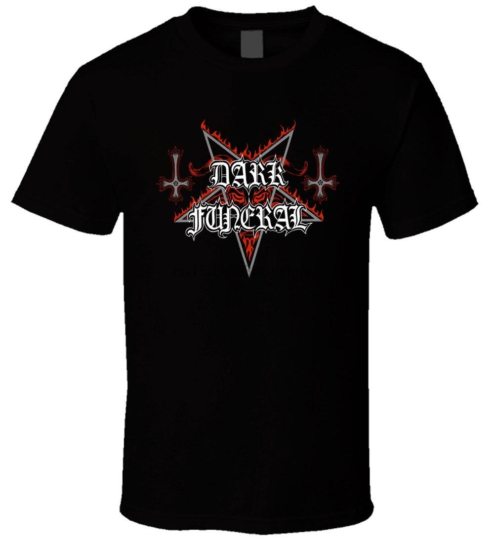 Мужская футболка с логотипом dark funeral 3
