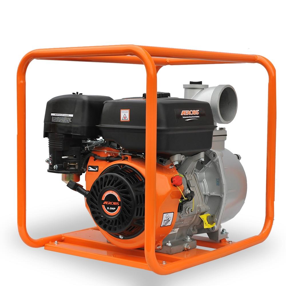 AEROBS WP40X 4 بوصة البنزين واضح مضخة مياه حديقة البنزين مضخة
