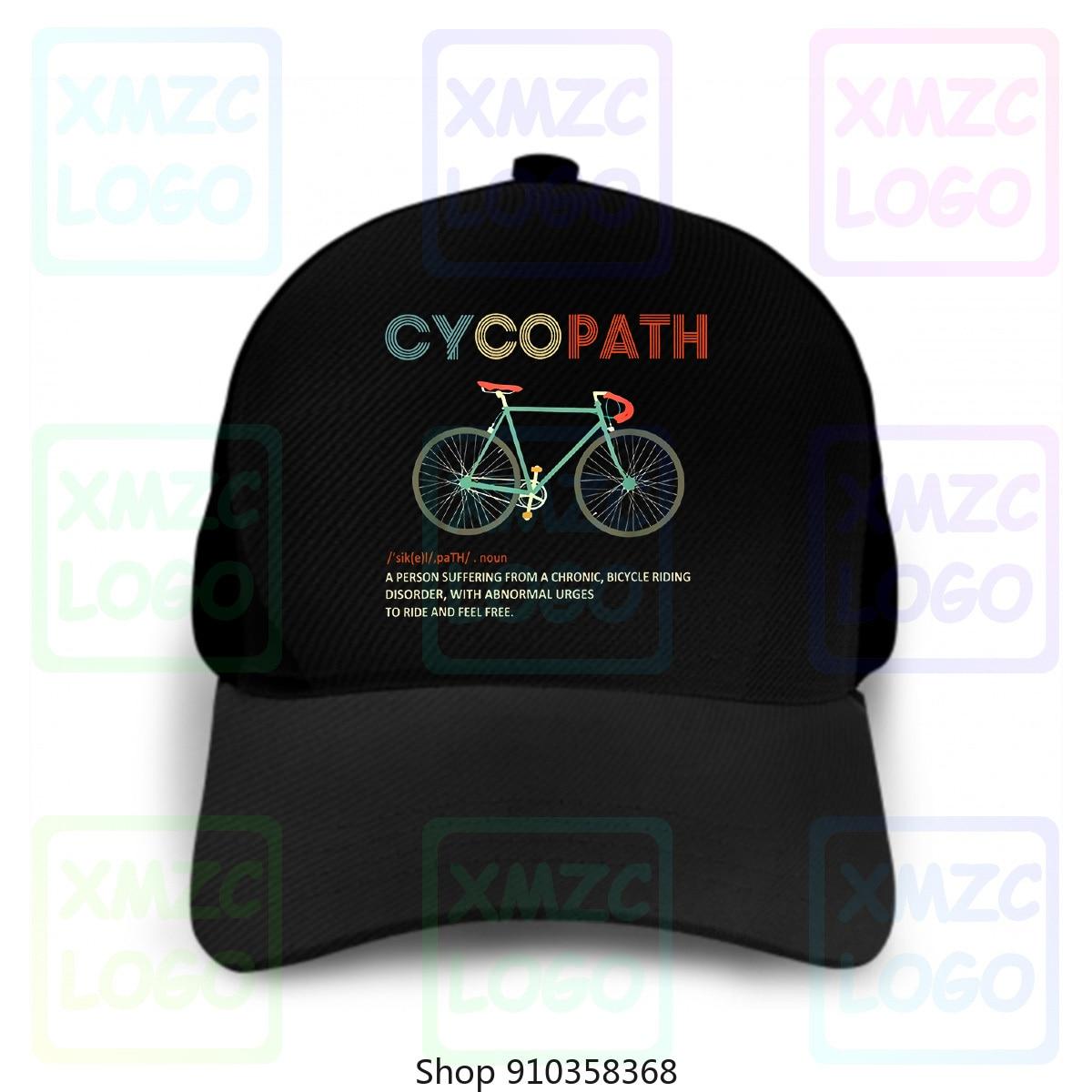 Casquette de Baseball Cycopath drôle vélo cycliste casquette de Baseball Humor S2434 casquette de Baseball pour hommes femmes mâle femme fille casquettes de Baseball 2