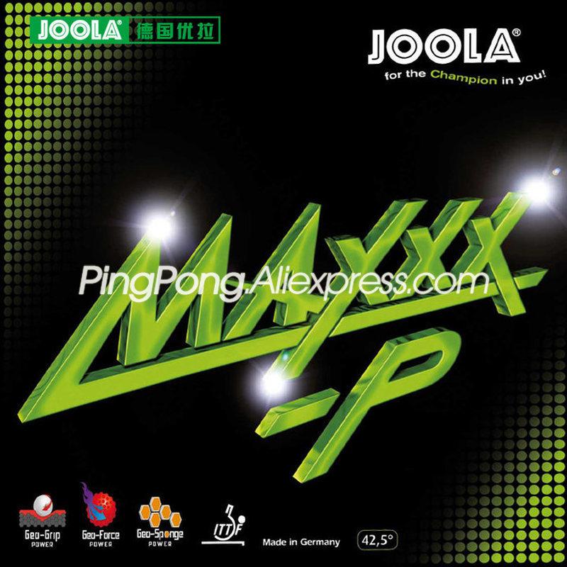 Joola MAXXX P/MAXXX P (Speed & Spin) Pips in Original JOOLA резиновая губка для настольного тенниса и пинг
