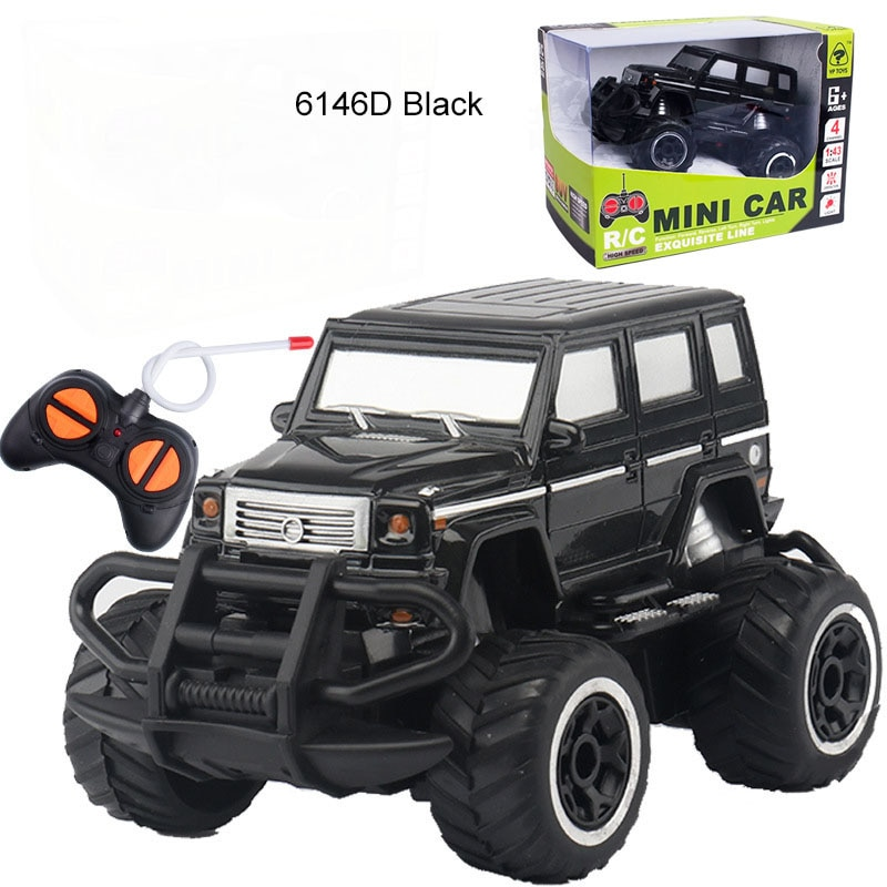 1:43 Kid's Toy 4CH Remote Car Toy Trucks Off-Road Race Model Wireless Remote Toy Car Toys For Kids R