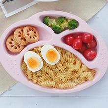 Bol bébé assiette pour enfants   Vaisselle pour enfants, bol dalimentation pour bébé, collation aux fruits, sous-grille assiette à dîner, assiettes pour bébé
