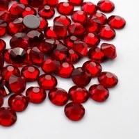 ss3 ss30 hot fix rhinestones aaa crimson crystal stone artificial gemstone strass vidro used to decorate wedding dress bags