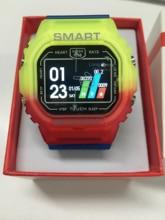 الرياضة ساعة ذكية IP68 مقاوم للماء معدل ضربات القلب ضغط الدم رصد K16 متعدد الألوان ساعة Smartwatch الرجال النساء ل شاومي هواوي