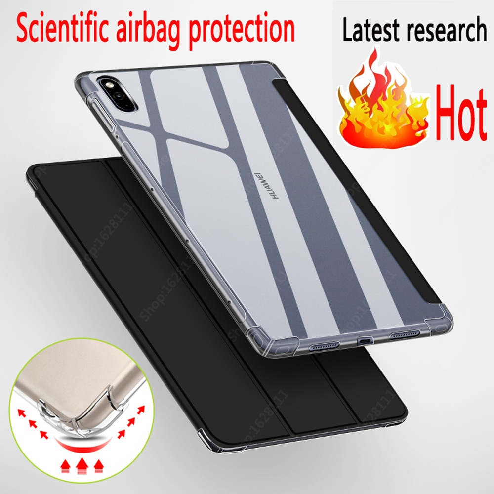 Airbag transparent soft protection Case For Huawei MatePad Pro 10.8 Mediapad M6 8.4 10.8 inch 2019 Honor V6 10.4