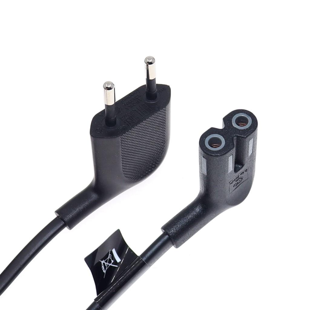 IEC C7 figura 8 Cable de alimentación de la UE 2 Prong...
