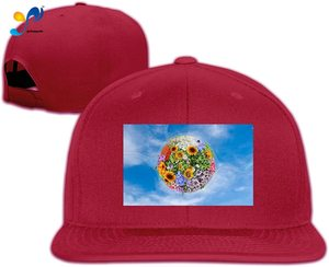 Yellowpods Earth Flower Men's Relaxed Medium Profile Adjustable Baseball Cap