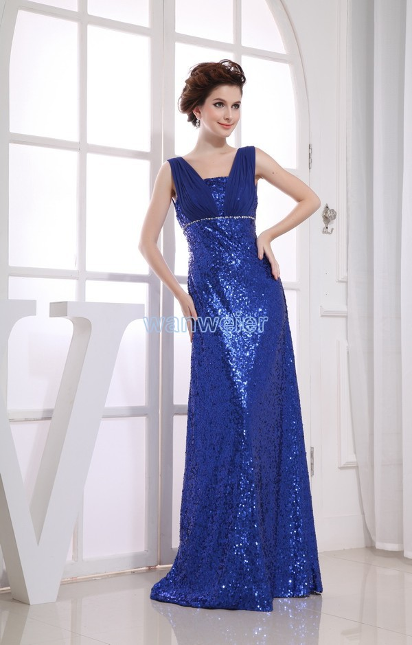2020 real photo sale tassel free shipping formal gown new custom dress long sleeve with jacket plus size bespoke wedding dresses free shipping 2020 blueformal formal gown new real photo hot maxi long brides blue sequined custom prom Bespoke Occasion Dresses